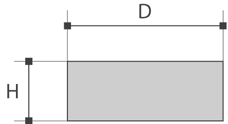 Barres plates (cisaillé)