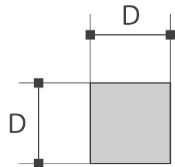Barres carrées (H11)
